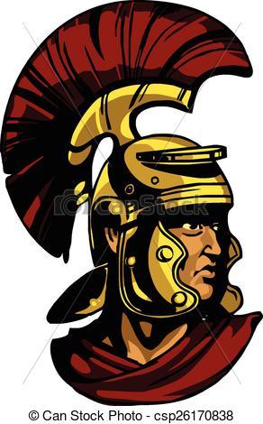 Gladiator clipart head Vectors head of Search csp26170838