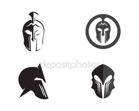 Gladiator clipart mask Vector mask elaelo logo and