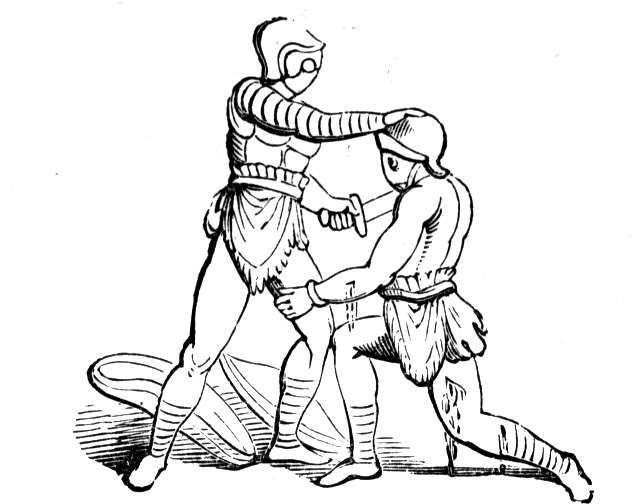 Gladiator clipart roman man Gladiators com Clipart Gladiators
