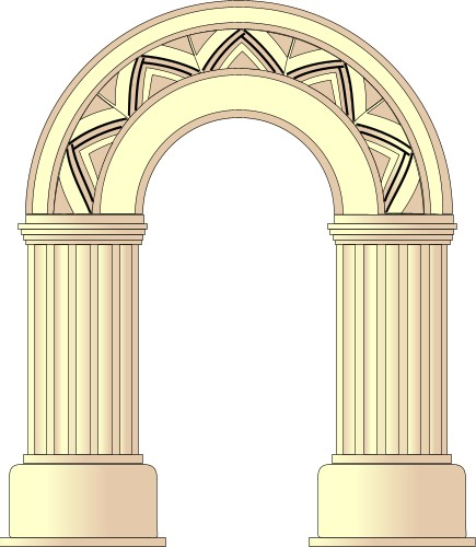 Building clipart roman empire Rome Arch for Ancient Kids