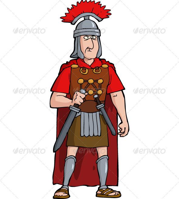 Gladiator clipart roman citizen Roman Officer