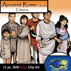 Gladiator clipart roman citizen Rome Color) (12 and Citizens