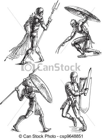 Gladiator clipart roman gladiator  Sketches Gladiator Ancient Clip