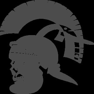 Gladiator clipart roman gladiator Vector  Clker Roman Skull