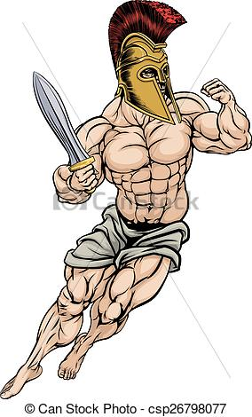 Gladiator clipart rome Gladiator Warrior white of Roman