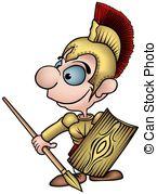 Gladiator clipart rome Gladiator Illustrations 3 Roman royalty