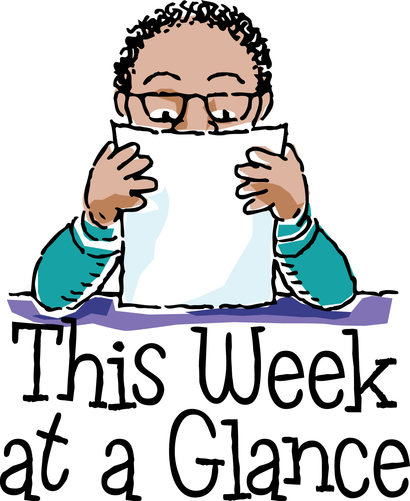 Glance clipart Result a At week clipart