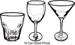 Glass clipart 405 Drinking Illustrations 493 Glass
