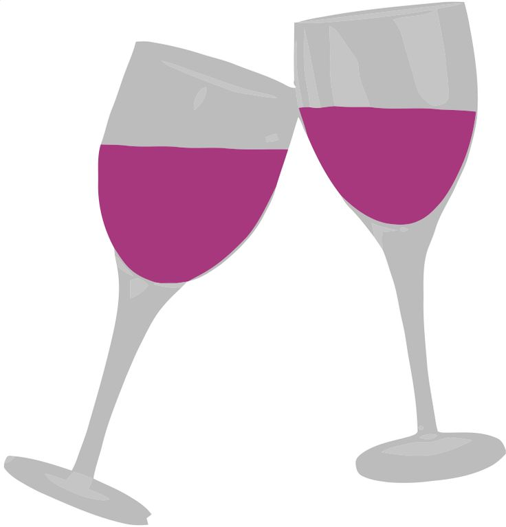 Wine clipart birthday Glasses Pinterest wine Wine of