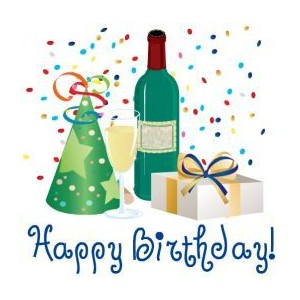 Wine clipart birthday  clip Happy Birthday cliparts