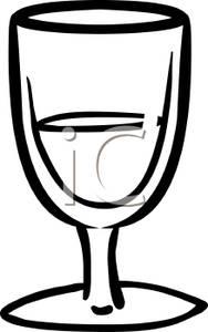 Monochrome clipart glass Download Black Black Art Clip