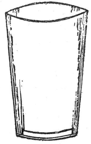 Monochrome clipart glass Coloring white and black Page