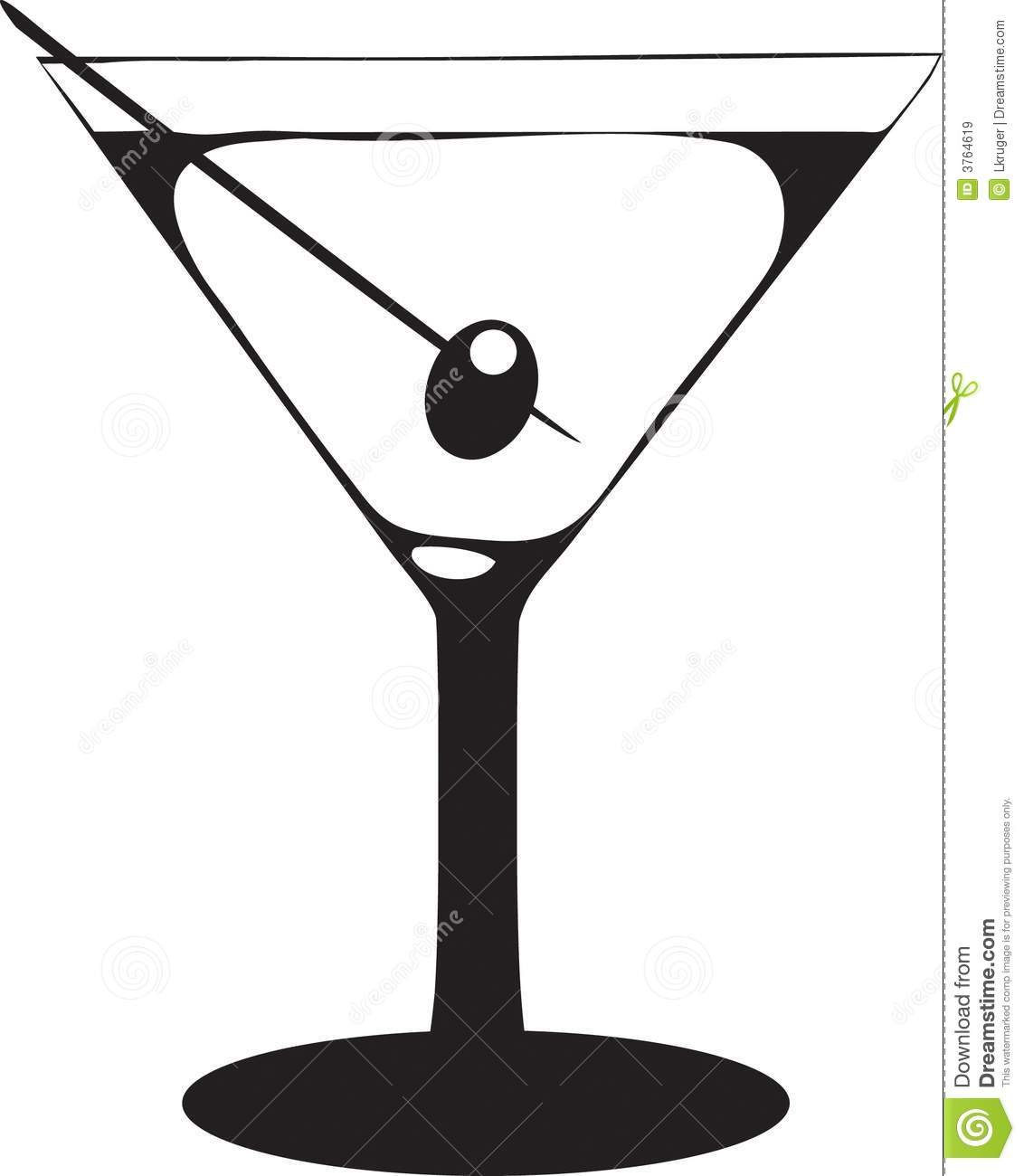 Whit clipart martini glass  Of Collection glass Clipart
