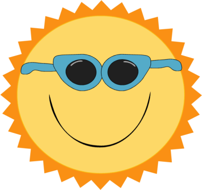 Adorable clipart sun Wearing Sun on Sun collection