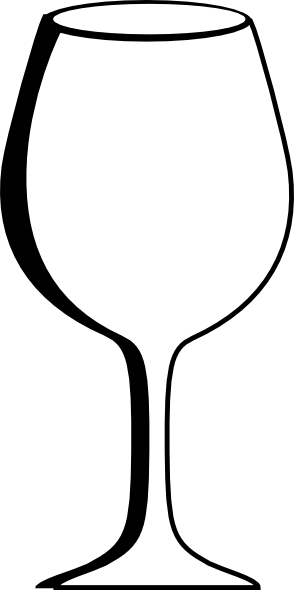 Wine clipart empty glass Clip Art vector Glass at
