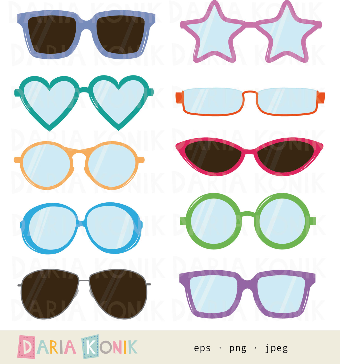 Spectacles clipart cool glass Clip item? cat shaped Art