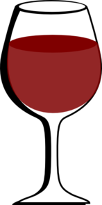 Wine clipart red wine Wine Glass com Of at