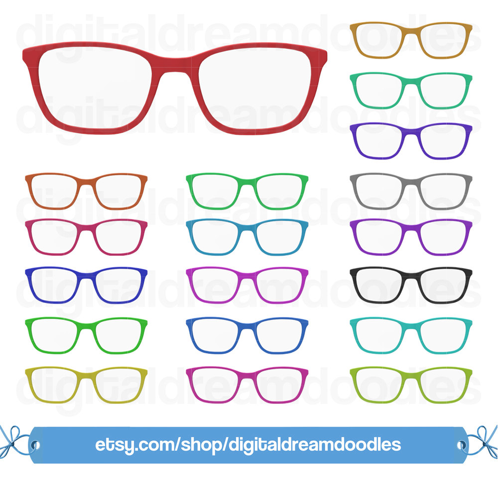 Spectacles clipart vision A is Clipart  This