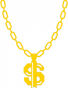 Necklace clipart thug #2