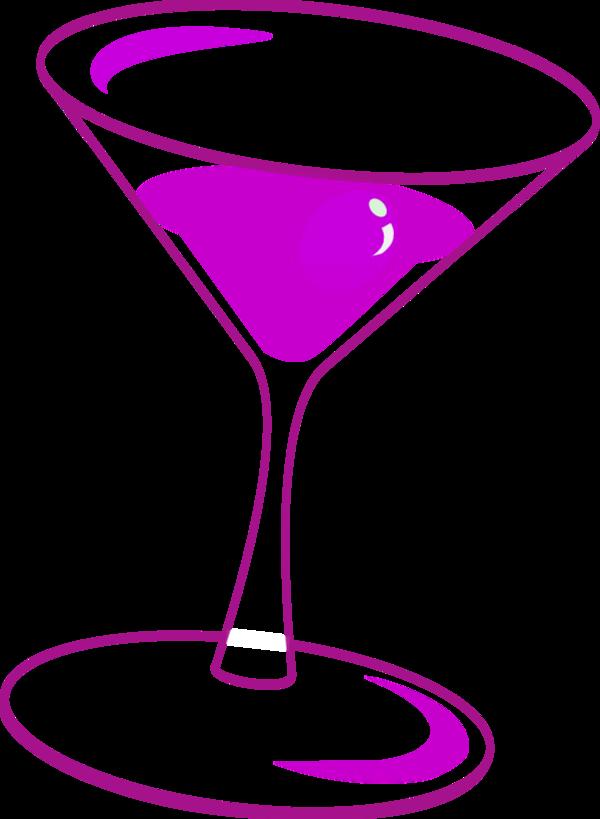 Wine clipart pink champagne Glass vector Art Clip Art