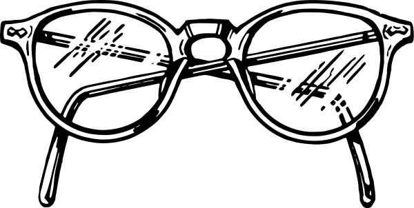 Hypnotic clipart eye glass With Glasses Blinking Free Clipart