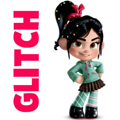 Glitch clipart angry From or How Glitch Vanellope