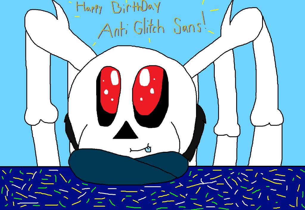 Glitch clipart birthday Glitch Sans cjc728 cjc728 by