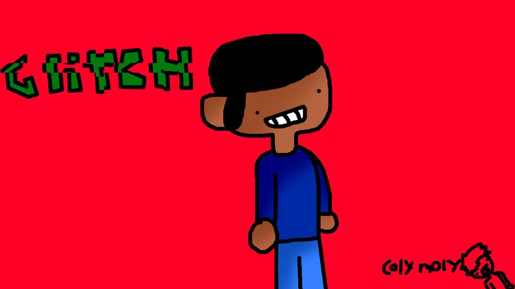 Glitch clipart boy Colymolygucacmole by by Glitch Glitch