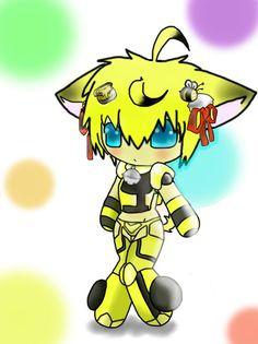 Glitch clipart bumblebee Transformers Bumble Chibi Bumblebee Chibi