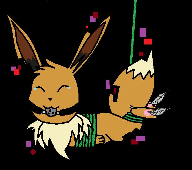 Glitch clipart bunny DeviantArt the on Tickle jemiejemie1
