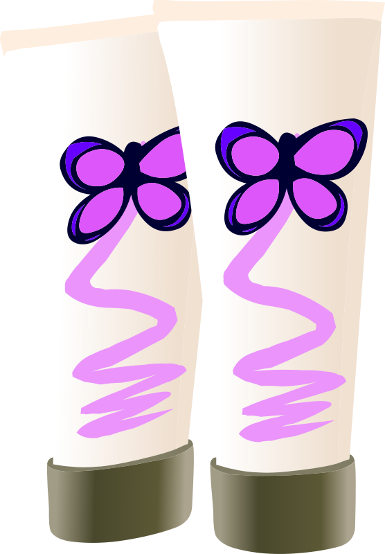 Glitch clipart butterfly (PNG) MEDIUM Butterfly Lotion Clipart