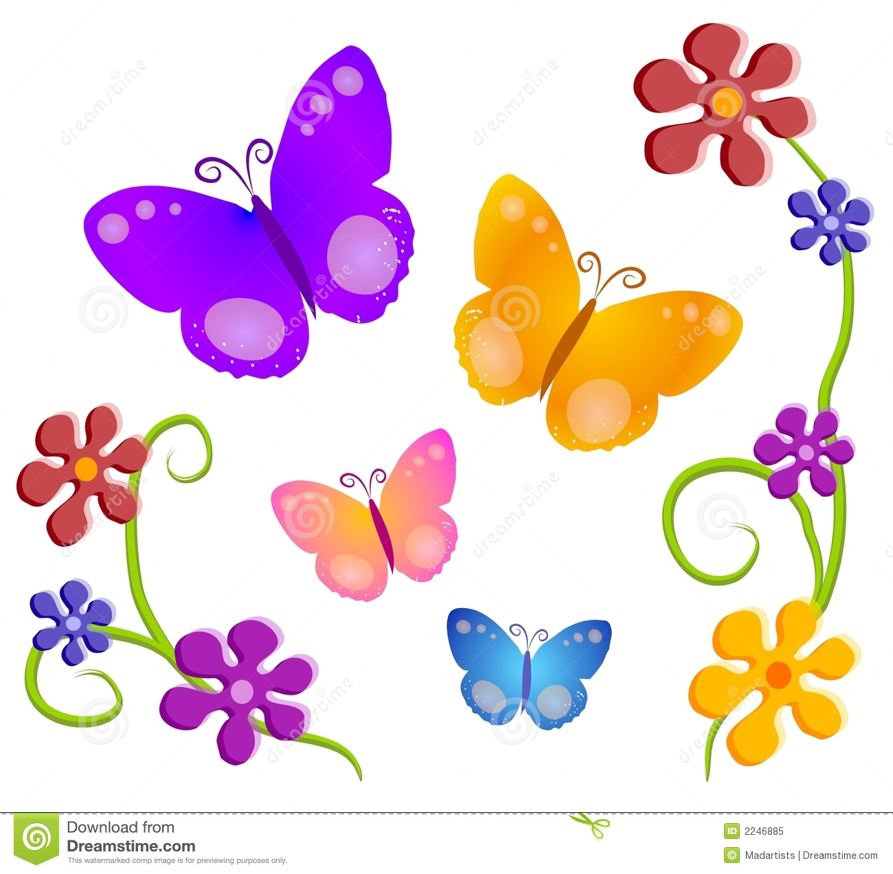 Glitch clipart butterfly Illustration Cartoon Vector A tones