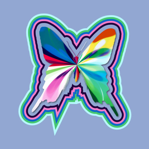 Glitch clipart butterfly Butterfly Form — with Serenity