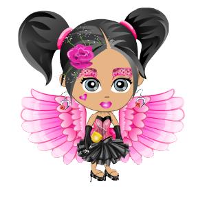 Glitch clipart butterfly pink Report: glitch Day earring glitch
