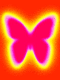 Glitch clipart butterfly pink Images glitter screen rainbow butterfly