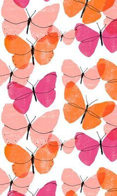 Glitch clipart butterfly pink All alannah pattern butterflies pattern