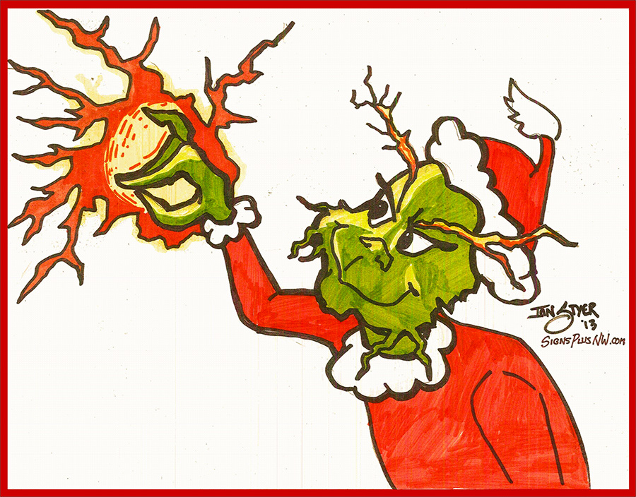 Glitch clipart christmas Signs 2013 Plus Christmas Stole