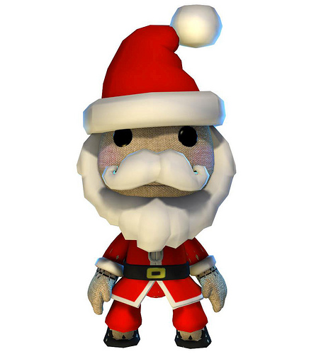 Glitch clipart christmas From Merry Sackboy Glitch and