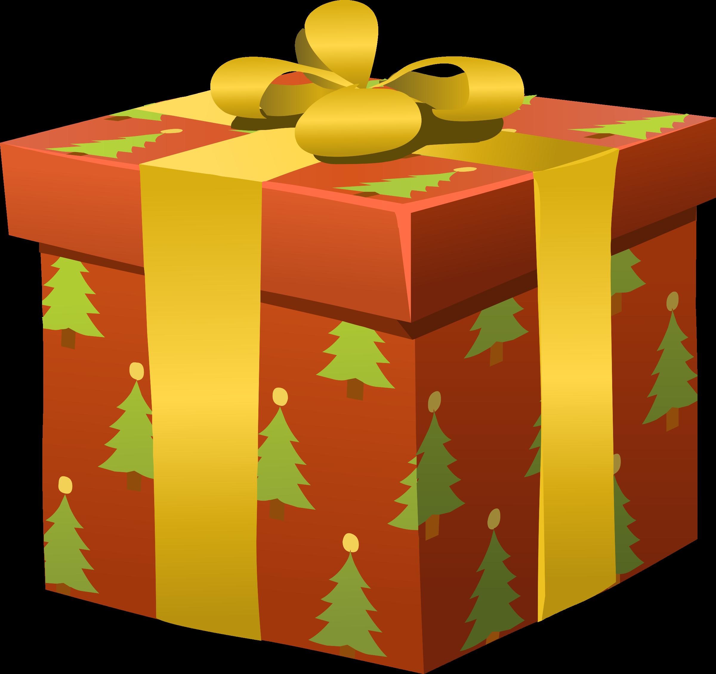Glitch clipart christmas Glitchmas BIG Present Misc Clipart