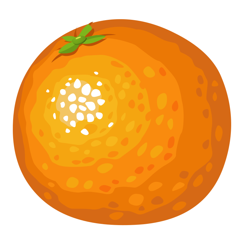 Glitch clipart color orange IMAGE Clipart Food MEDIUM Orange