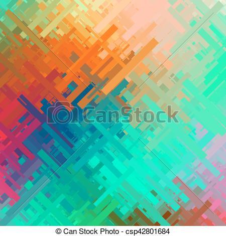 Glitch clipart color orange Background Glitch Glitch csp42801684 Color