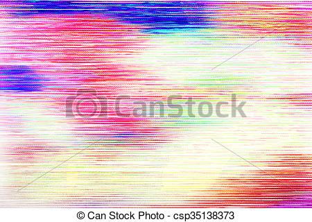 Glitch clipart color orange Csp35138373 Colors Screen Texture Glitch