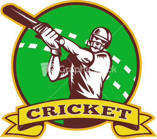 Glitch clipart cricket Batting Batting Batsman Image Sports