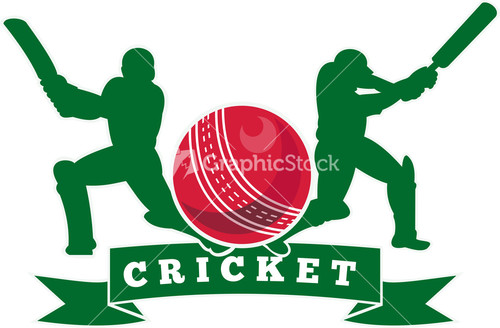 Glitch clipart cricket Batsman Player Player Batting Image