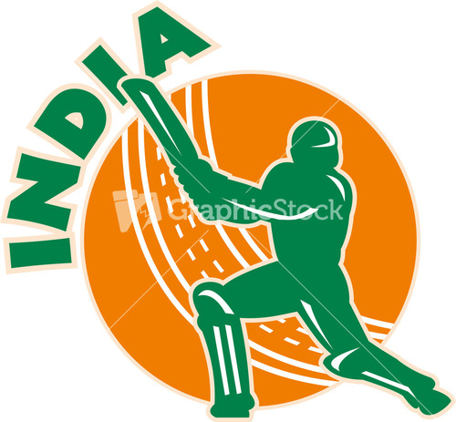 Glitch clipart cricket Batsman Sports Sports Wicket India
