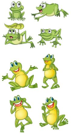 Glitch clipart cute C  Animals Frog art