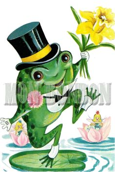 Glitch clipart cute spring Frogs Art Images Bing INSTANT