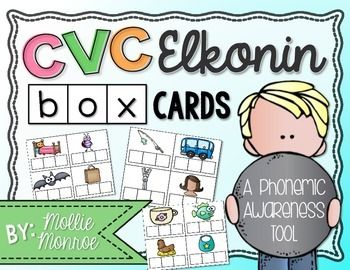 Glitch clipart cvc Elkonin Type Box about TPT: