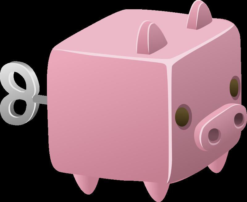 Glitch clipart domestic IMAGE MEDIUM Piggy (PNG) Cubimal