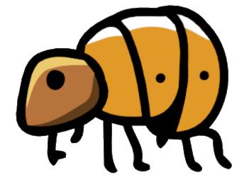 Glitch clipart flea Png png powered Scribblenauts Flea